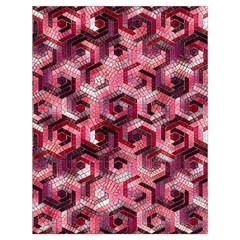 Pattern Factory 23 Red Drawstring Bag (Large)