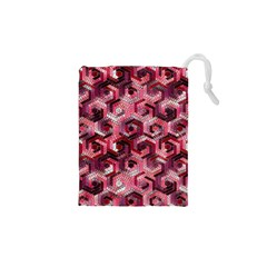 Pattern Factory 23 Red Drawstring Pouches (XS)