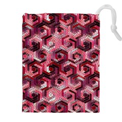 Pattern Factory 23 Red Drawstring Pouches (XXL)