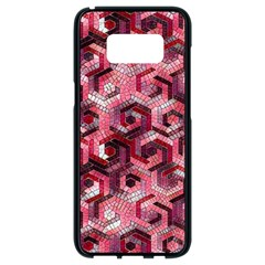 Pattern Factory 23 Red Samsung Galaxy S8 Black Seamless Case
