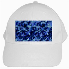 Pattern Factory 23 Blue White Cap