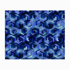 Pattern Factory 23 Blue Small Glasses Cloth (2-Side)