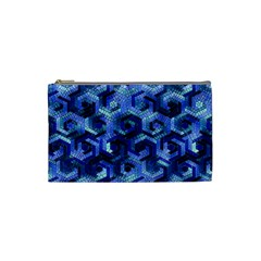 Pattern Factory 23 Blue Cosmetic Bag (Small)