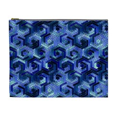 Pattern Factory 23 Blue Cosmetic Bag (XL)