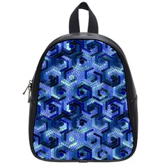 Pattern Factory 23 Blue School Bags (Small)