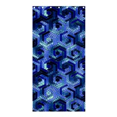 Pattern Factory 23 Blue Shower Curtain 36  x 72  (Stall)