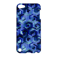 Pattern Factory 23 Blue Apple iPod Touch 5 Hardshell Case