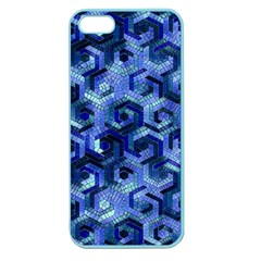 Pattern Factory 23 Blue Apple Seamless iPhone 5 Case (Color)