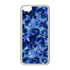 Pattern Factory 23 Blue Apple iPhone 5C Seamless Case (White)