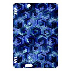 Pattern Factory 23 Blue Kindle Fire HDX Hardshell Case