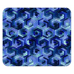 Pattern Factory 23 Blue Double Sided Flano Blanket (Small)