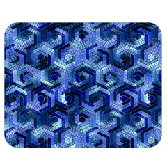 Pattern Factory 23 Blue Double Sided Flano Blanket (Medium)