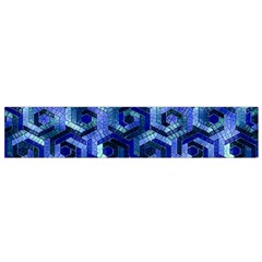 Pattern Factory 23 Blue Flano Scarf (Small)