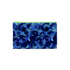 Pattern Factory 23 Blue Cosmetic Bag (XS)