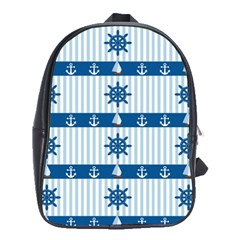 Sea pattern School Bags(Large)