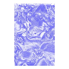 Shimmering Floral Damask,blue Shower Curtain 48  x 72  (Small)