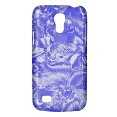 Shimmering Floral Damask,blue Galaxy S4 Mini