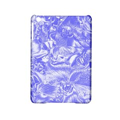 Shimmering Floral Damask,blue iPad Mini 2 Hardshell Cases