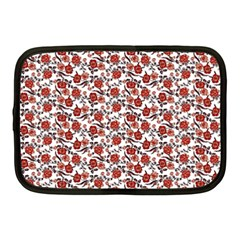 Roses pattern Netbook Case (Medium)