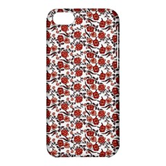Roses pattern Apple iPhone 5C Hardshell Case