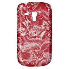 Shimmering Floral Damask Pink Galaxy S3 Mini