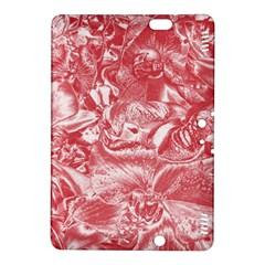 Shimmering Floral Damask Pink Kindle Fire HDX 8.9  Hardshell Case
