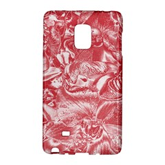 Shimmering Floral Damask Pink Galaxy Note Edge