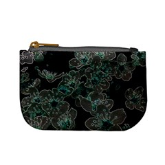 Glowing Flowers In The Dark C Mini Coin Purses