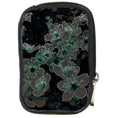 Glowing Flowers In The Dark C Compact Camera Cases