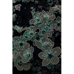 Glowing Flowers In The Dark C 5.5  x 8.5  Notebooks