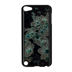 Glowing Flowers In The Dark C Apple iPod Touch 5 Case (Black)