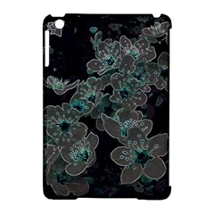 Glowing Flowers In The Dark C Apple iPad Mini Hardshell Case (Compatible with Smart Cover)