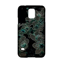 Glowing Flowers In The Dark C Samsung Galaxy S5 Hardshell Case