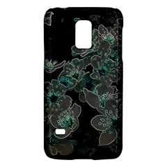 Glowing Flowers In The Dark C Galaxy S5 Mini