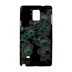 Glowing Flowers In The Dark C Samsung Galaxy Note 4 Hardshell Case