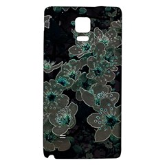 Glowing Flowers In The Dark C Galaxy Note 4 Back Case