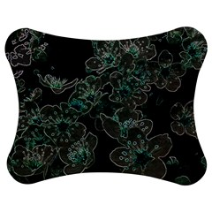 Glowing Flowers In The Dark C Jigsaw Puzzle Photo Stand (Bow)