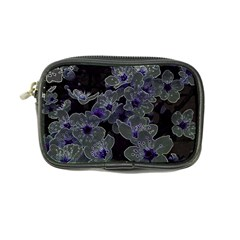 Glowing Flowers In The Dark B Coin Purse