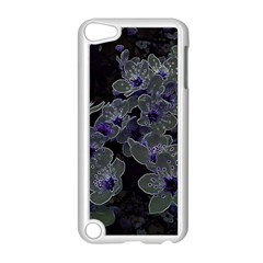 Glowing Flowers In The Dark B Apple iPod Touch 5 Case (White)