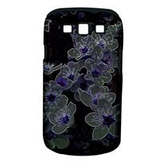 Glowing Flowers In The Dark B Samsung Galaxy S III Classic Hardshell Case (PC+Silicone)