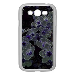 Glowing Flowers In The Dark B Samsung Galaxy Grand DUOS I9082 Case (White)