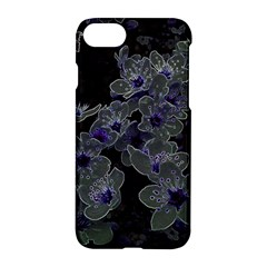Glowing Flowers In The Dark B Apple iPhone 7 Hardshell Case