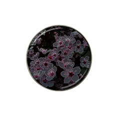 Glowing Flowers In The Dark A Hat Clip Ball Marker (10 pack)