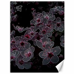 Glowing Flowers In The Dark A Canvas 36  x 48