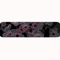 Glowing Flowers In The Dark A Large Bar Mats