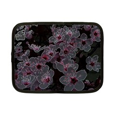 Glowing Flowers In The Dark A Netbook Case (Small)