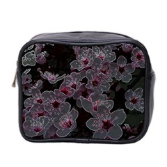 Glowing Flowers In The Dark A Mini Toiletries Bag 2-Side