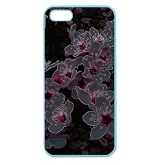Glowing Flowers In The Dark A Apple Seamless iPhone 5 Case (Color)