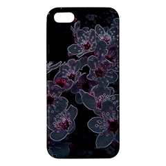 Glowing Flowers In The Dark A Apple iPhone 5 Premium Hardshell Case