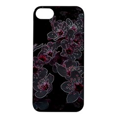 Glowing Flowers In The Dark A Apple iPhone 5S/ SE Hardshell Case